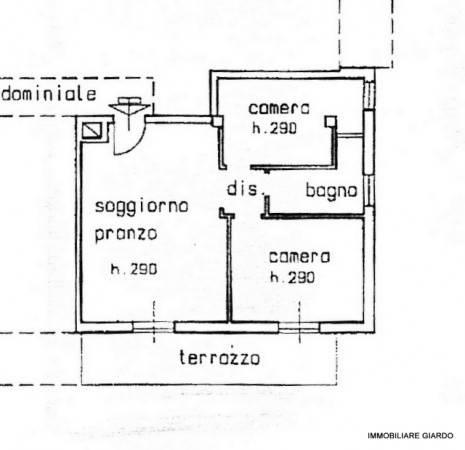 foto PLANIMETRIA APPARTAMENTO 3-room flat via Ca' Rossa, Diano Marina