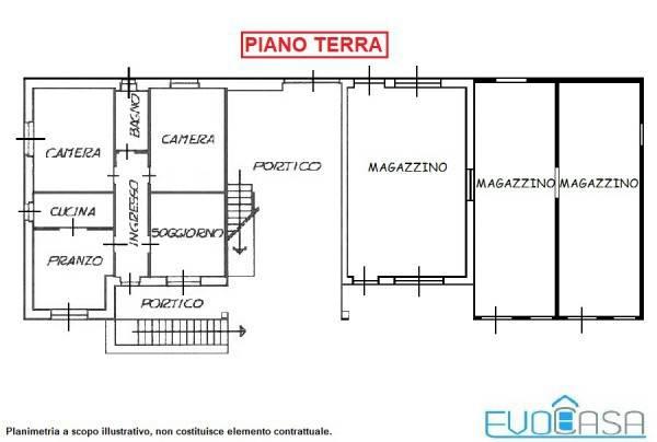 foto piano terra Detached house Borgata Villasella Superiore 8, Perrero
