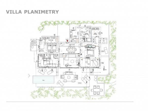 foto Piantina Villa unifamiliare, nuova, 270 mq, Villasimius
