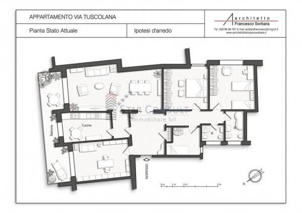 Vendita Appartamento In Via Tuscolana 370 Roma Buono Stato Sesto