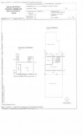 foto plan Appartamento Località Séez, Saint-Pierre