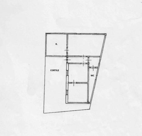 foto planimetria Villa unifamiliare, da ristrutturare, 90 mq, Oria