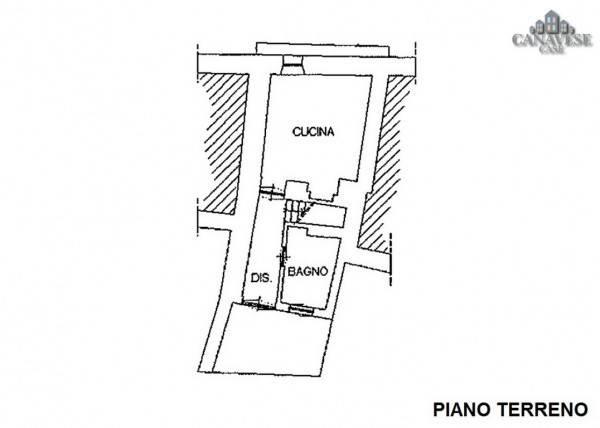 foto piantina Single-family townhouse via Umberto I 54, Colleretto Giacosa