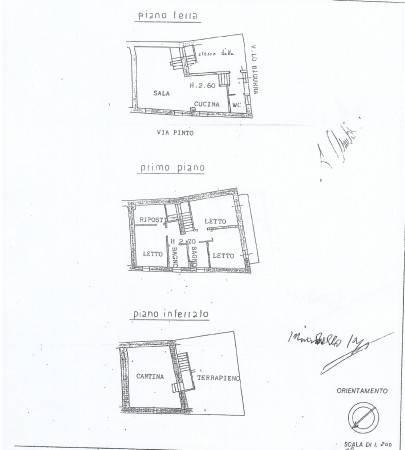 foto PLANIMETRIA ABITAZIONE Detached house 150 sq.m., excellent condition, Tortona
