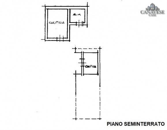 foto piantina Detached house via Torino, Val di Chy