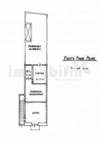 foto planimetria Trilocale da ristrutturare, primo piano, Oria