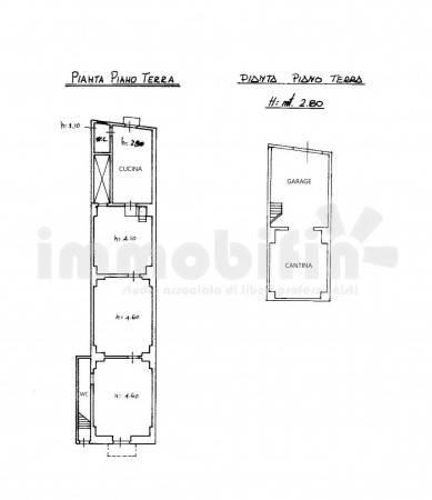 foto planimetria Appartamento da ristrutturare, piano terra, Oria