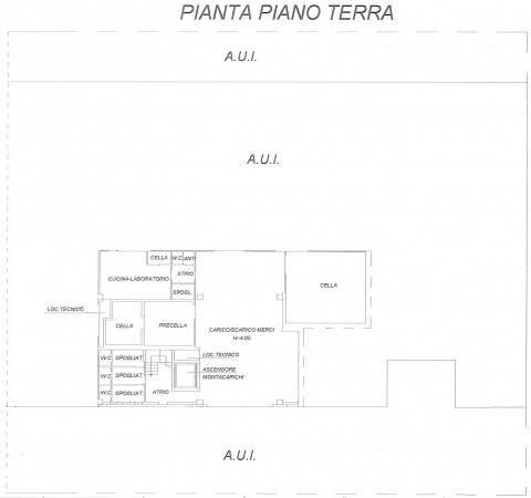 foto Planimetria Capannone in Vendita a San Paolo