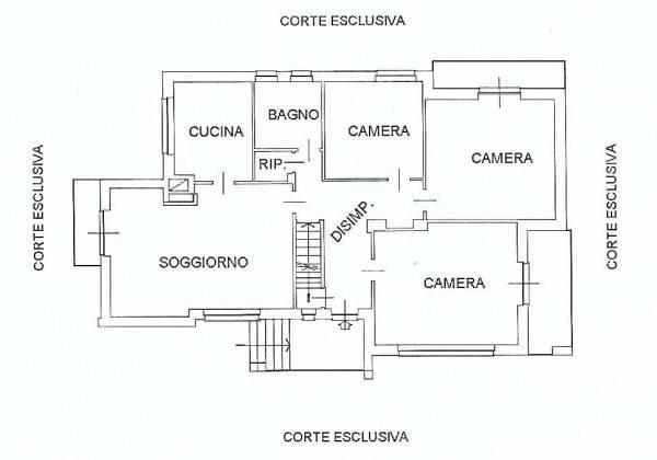 foto piano rialzato Single family villa via Mezzana, Monteu da Po