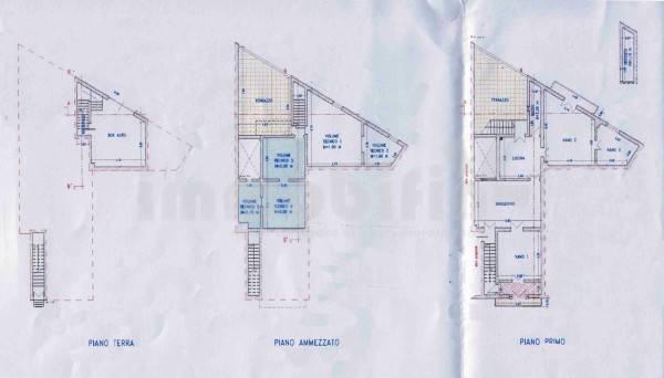 foto planimetria Appartamento da ristrutturare, primo piano, Oria