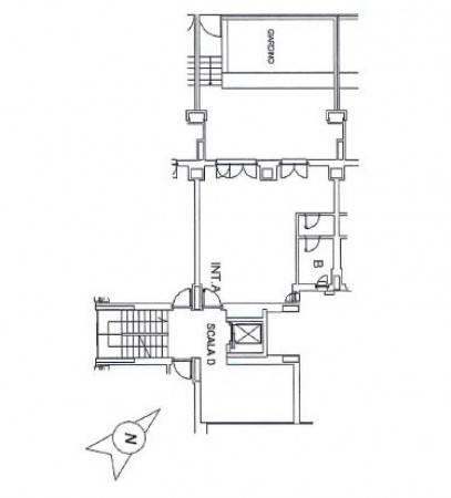 foto planimetria Ufficio in Vendita a Roma