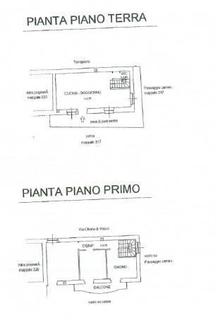 foto planimetria Detached house via Chiera di Vasco, Monastero di Vasco