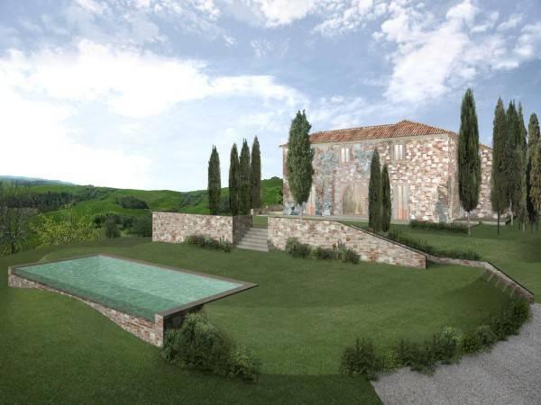 foto Planimetria Casa colonica Strada Provinciale Torre a Castello, Asciano