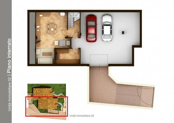foto  Single family villa, new, 215 sq.m., Arignano