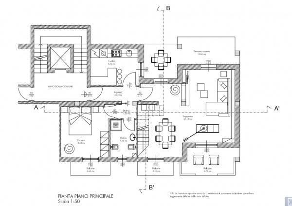 foto planimetria Appartamento via Sempione, Meina