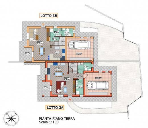 foto piano terra Two-family villa via Pasquere, Colleretto Giacosa