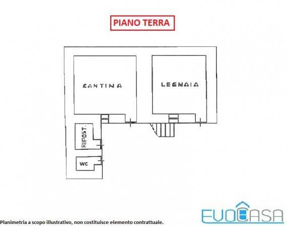 foto piano terra Detached house Borgata Baissa, Perrero
