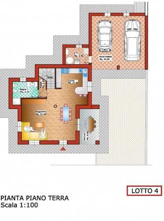 foto lotto 4 pt Single family villa via Pasquere, Colleretto Giacosa