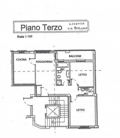 foto  Appartamento via Guglielmo Marconi 3, Cosenza