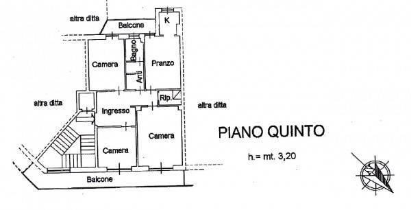 foto alloggio 4-room flat via Michele Coppino, Cuneo