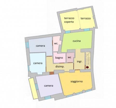 foto  4-room flat via Umberto I 2, Castel Vittorio