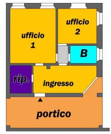 foto planimetria Ufficio in Affitto a Lodi