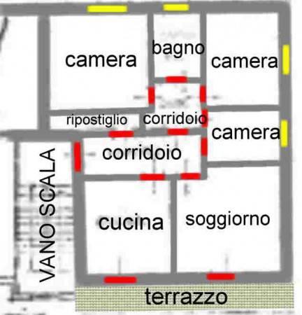 foto  Quadrilocale via Pederiva 96, Grancona