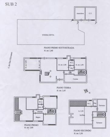 foto planimetria Villa unifamiliare Contrada Giardino 57, Colonnella