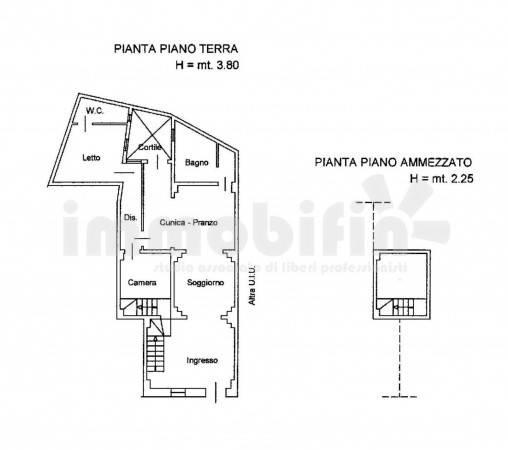 foto planimetria Appartamento ottimo stato, piano terra, Oria