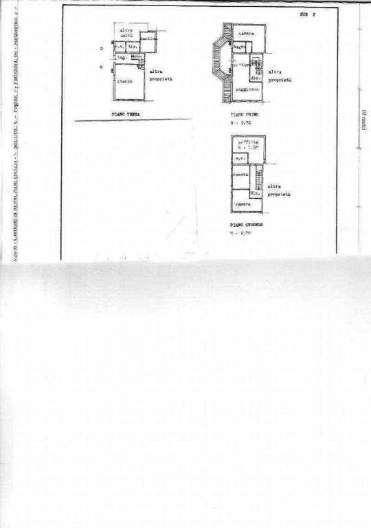 foto PLANIMETRIA Detached house 171 sq.m., good condition, Roncade