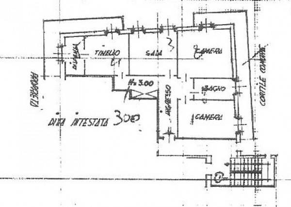 foto PLANIMETRIA 4-room flat via Dante Alighieri 72, Castelnuovo Scrivia