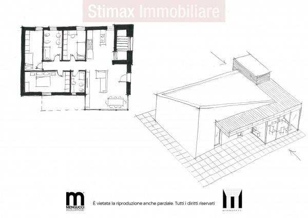foto plan1 Villa unifamiliare, nuova, 130 mq, Bologna
