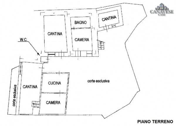 foto piantina Detached house via Alpetta, Ronco Canavese