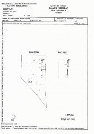 foto elaborato planimetrico Two-family villa, excellent condition, 220 sq.m., Castiglione Messer Raimondo