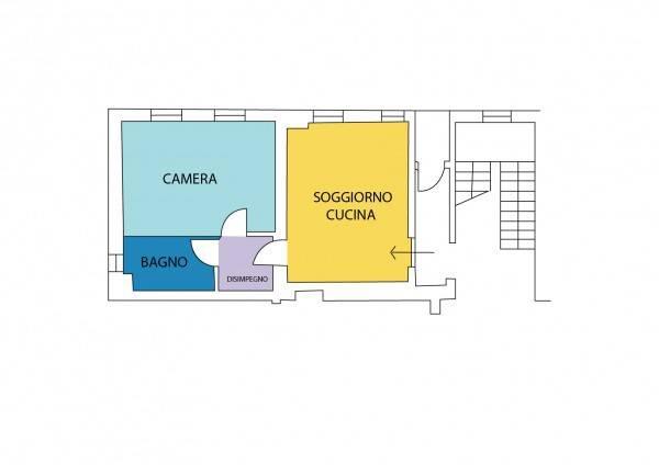 foto Planimetria Bilocale via Cascina Restelli 3, Limido Comasco