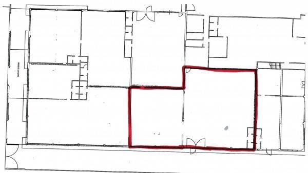 foto planimetria Capannone in Affitto a Scandicci