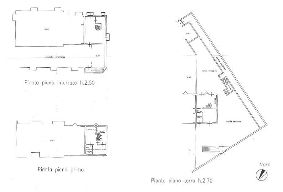 foto planimetria Terraced house via Torquato Tasso, Solto Collina