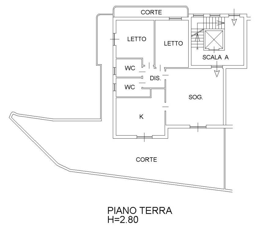foto  Trilocale via Vincenzo Nocito, Belvedere Marittimo