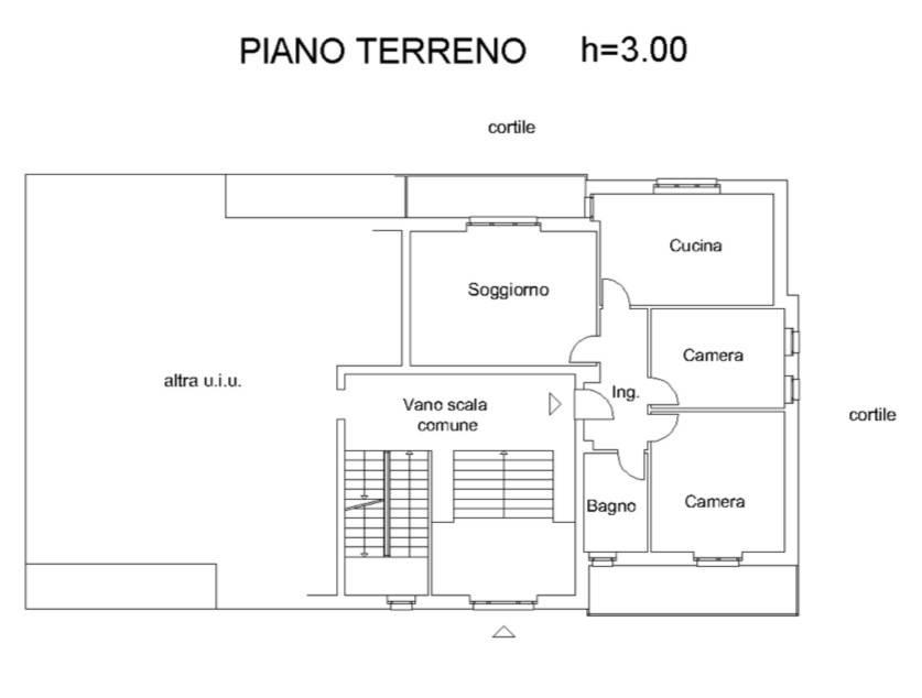 foto planimetria Quadrilocale piazza della Chiesa, Grinzane Cavour