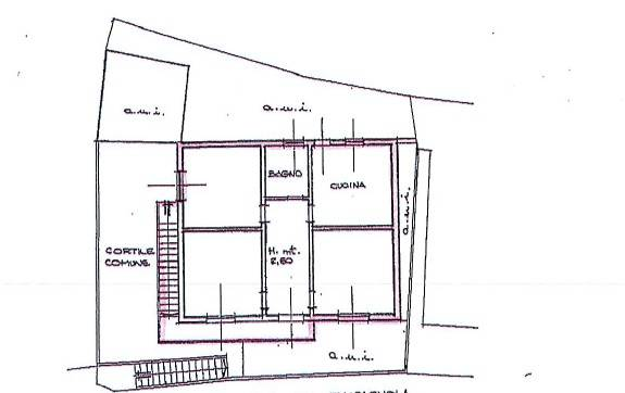 foto planimetria 1 3-room flat via piazza Botta, Sedrina
