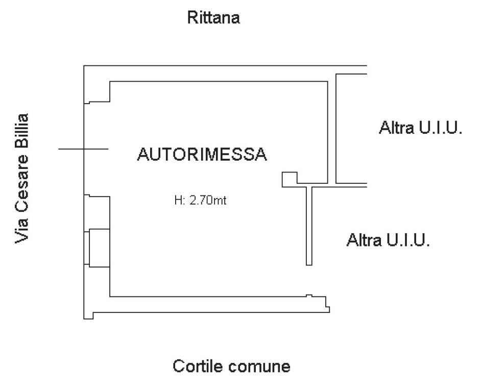 foto Autorimessa Stabile o palazzo via Cesare Billia 22, Racconigi