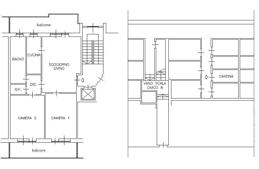 foto  3-room flat via Massimo Portalupi 6, Collegno