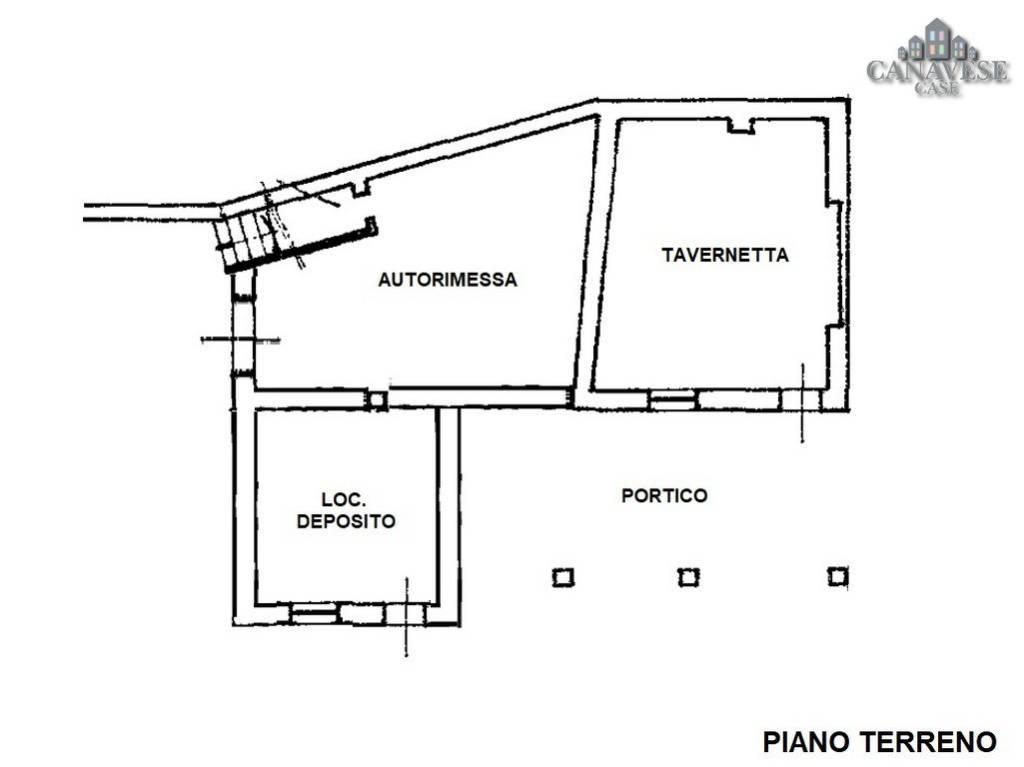 foto piantina Detached house Strada Provinciale di -Dir  per Prascorsano, Canischio