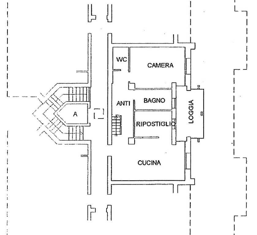 foto piano quarto Penthouse via Jacopo da Ponte, Asolo