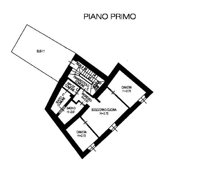 foto TRILOCALE Stabile o palazzo via Roma, Dro
