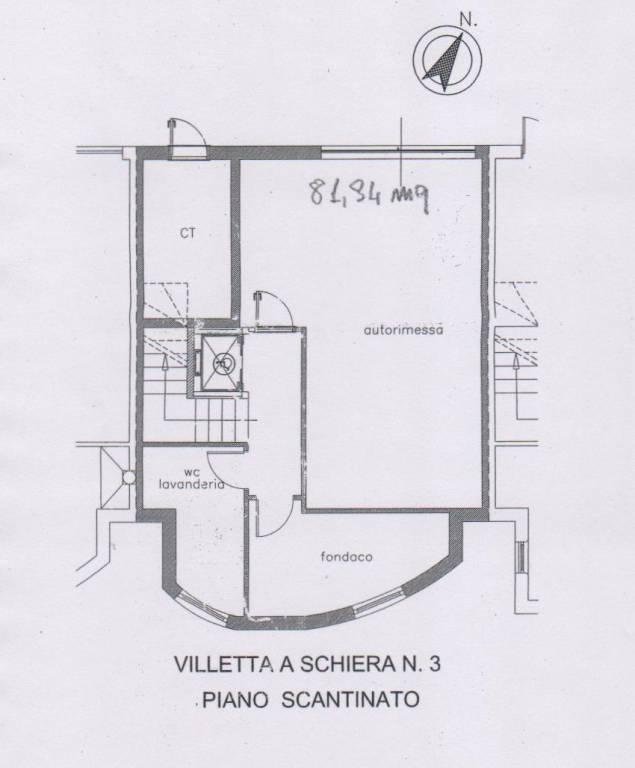 foto seminterrato Villa via Roma, Sant'Omero