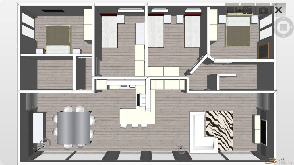 foto  Penthouse new, 188 sq.m., Argegno