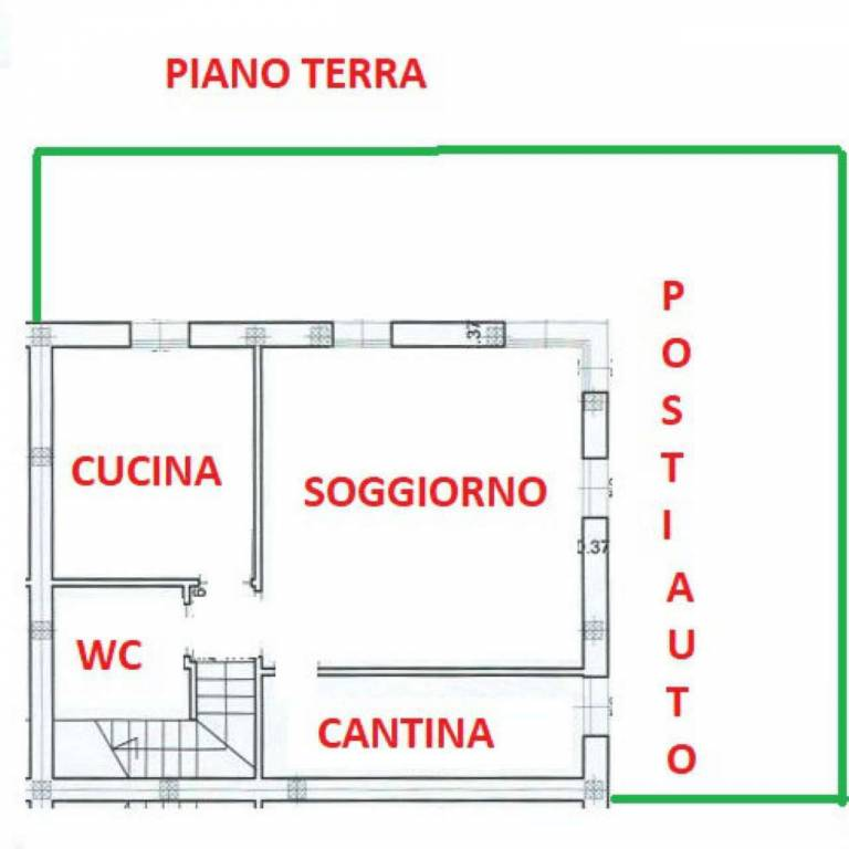foto plan. piano terra Casa indipendente 110 mq, nuova, Ravenna