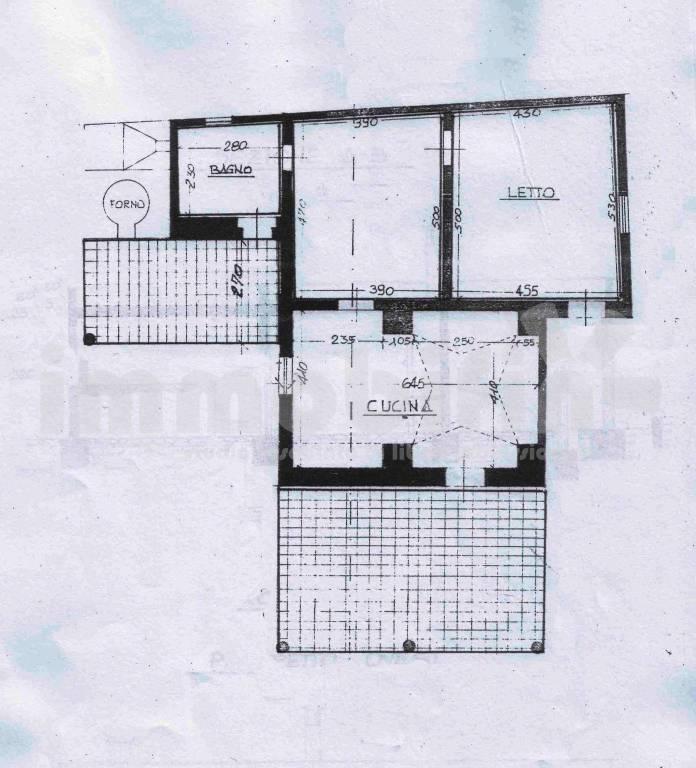 foto planimetria Villa unifamiliare, da ristrutturare, 75 mq, Oria