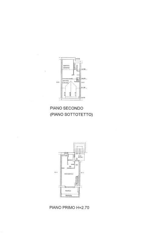 foto Piantina appartamento 4-room flat via alle Torri, Colico